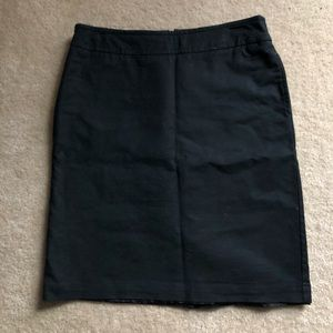 Merona black stretch skirt